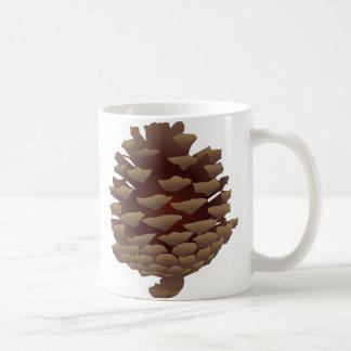 Rustic Pinecone Coffee Mug