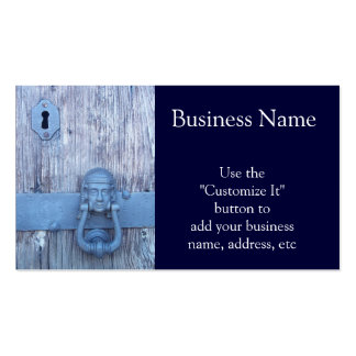 Rustic Port Entry Door Pack Of Standard Business Cards