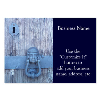 Rustic Port Entry Door Pack Of Chubby Business Cards