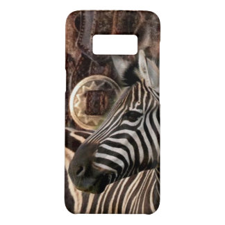 rustic Primitive Africa safari animal  zebra Case-Mate Samsung Galaxy S8 Case