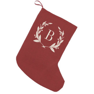 Personalized Monogram Christmas Stockings