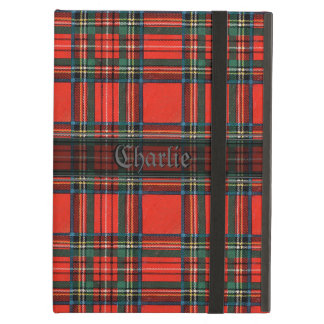 Rustic Red Tartan iPad Air Cover