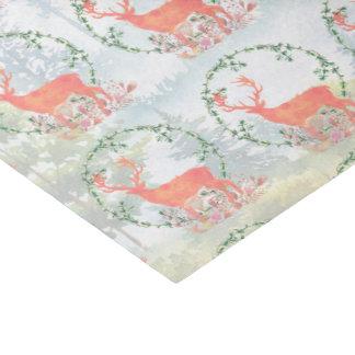 Rustic Reindeer Boho Watercolor Tissue Paper
