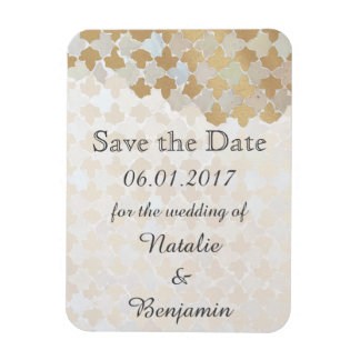 Rustic Romance Wedding | Save the Date Rectangular Photo Magnet