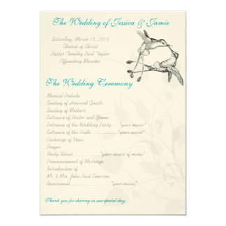 Rustic Romantic Hummingbird Kiss Love BirdWedding 13 Cm X 18 Cm Invitation Card