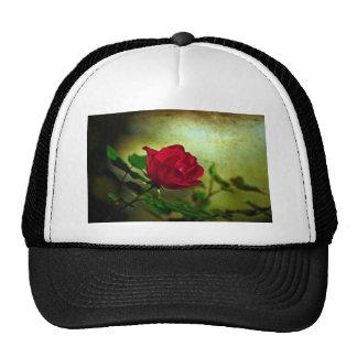 Rustic Romatic Rose Trucker Hat