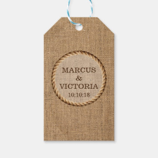Rustic Rope Country Wedding Jute Gift Tags