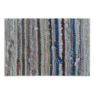 rustic rug texture textile homemade carpet pattern poster