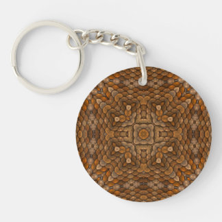 Rustic Scales  Acrylic Keychains, 6 styles Key Ring