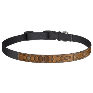 Rustic Scales Colorful Dog Collars