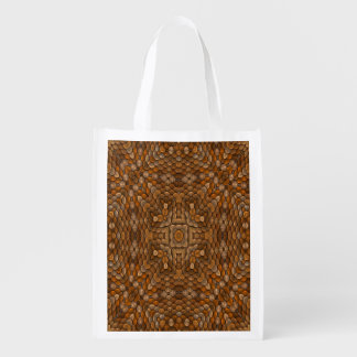 Rustic Scales Colorful Reusable Bags Market Totes