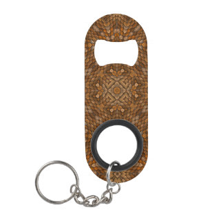 Rustic Scales  Kaleidoscope Bottle Openers