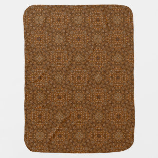 Rustic Scales  Tiled Design Baby Blankets