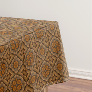 Rustic Scales  Vintage Kaleidoscope   Tablecloth