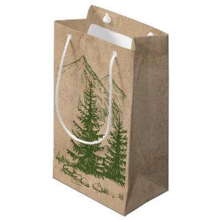 Rustic Scenic Mountain wedding Gift Bag