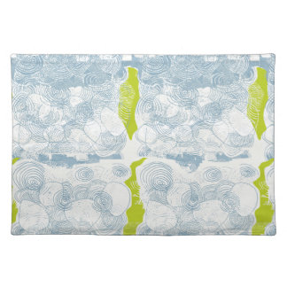 Rustic Sea Shell Pattern Placemat