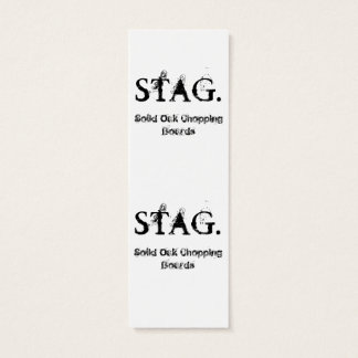 Rustic Stag Head Business Card