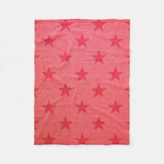 Rustic Star Fleece Blanket