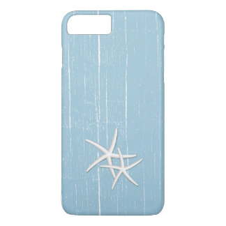 Rustic Starfish Mint Blue Beach Theme iPhone 8 Plus/7 Plus Case
