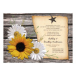 Rustic Sunflower Daisy Wedding Reception Only