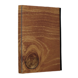 Rustic Teak Wood Grain Texture Photo iPad Case