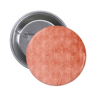 Rustic Terra Cotta 6 Cm Round Badge