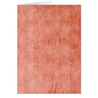Rustic Terra Cotta Card