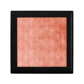 Rustic Terra Cotta Small Square Gift Box