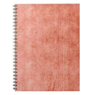 Rustic Terra Cotta Spiral Notebook
