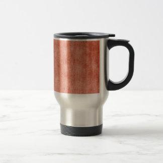 Rustic Terra Cotta Travel Mug