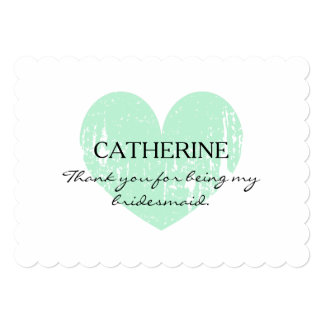 Rustic Thank you for being my bridesmaid cards 13 Cm X 18 Cm Invitation Card