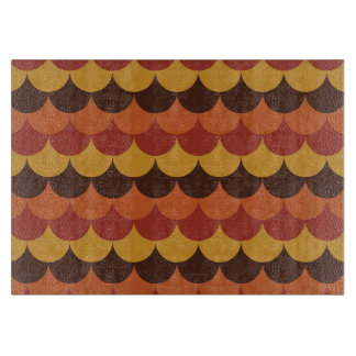 Rustic Thanksgiving Holiday Fall Autumn Colorful Cutting Board