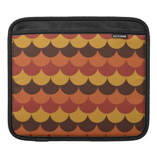 Rustic Thanksgiving Holiday Fall Autumn Colorful iPad Sleeve