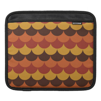 Rustic Thanksgiving Holiday Fall Autumn Colorful iPad Sleeves