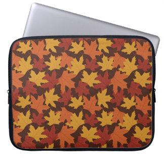 Rustic Thanksgiving Holiday Fall Autumn Colorful Laptop Computer Sleeve