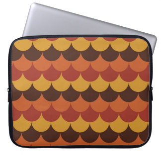Rustic Thanksgiving Holiday Fall Autumn Colorful Laptop Sleeve
