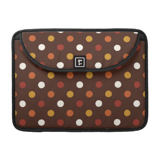 Rustic Thanksgiving Holiday Fall Autumn Colorful MacBook Pro Sleeves