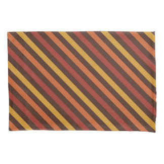 Rustic Thanksgiving Holiday Fall Autumn Colorful Pillowcase