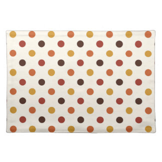 Rustic Thanksgiving Holiday Fall Autumn Colorful Placemat