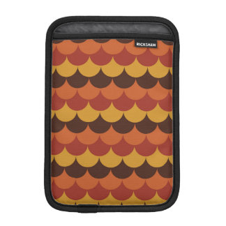 Rustic Thanksgiving Holiday Fall Autumn Colorful Sleeve For iPad Mini