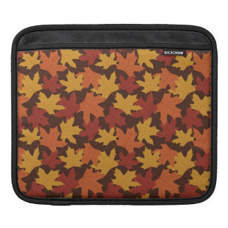 Rustic Thanksgiving Holiday Fall Autumn Colorful Sleeve For iPads