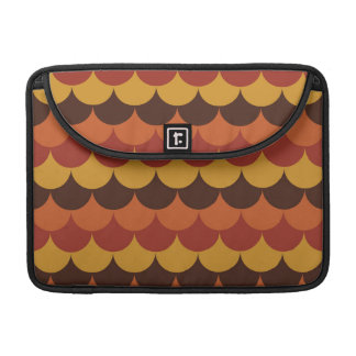 Rustic Thanksgiving Holiday Fall Autumn Colorful Sleeve For MacBooks