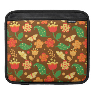 Rustic Thanksgiving Holiday Fall Autumn Colorful Sleeves For iPads
