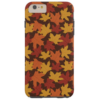 Rustic Thanksgiving Holiday Fall Autumn Colorful Tough iPhone 6 Plus Case