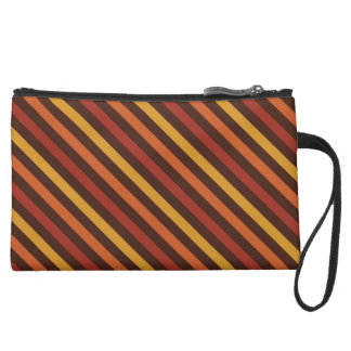Rustic Thanksgiving Holiday Fall Autumn Colorful Wristlet Purses