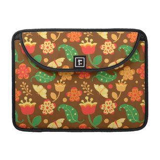 Rustic Thanksgiving Holiday Fall Autumn Sleeve For MacBooks