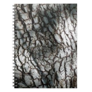 Rustic tree bark notebook
