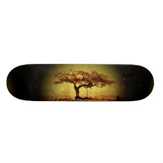 Rustic Tree Custom Skate Board