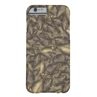 Rustic Tropical Leaves Botanical Elegant Vintage Barely There iPhone 6 Case
