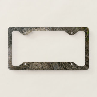 Rustic Tumbleweed Licence Plate Frame